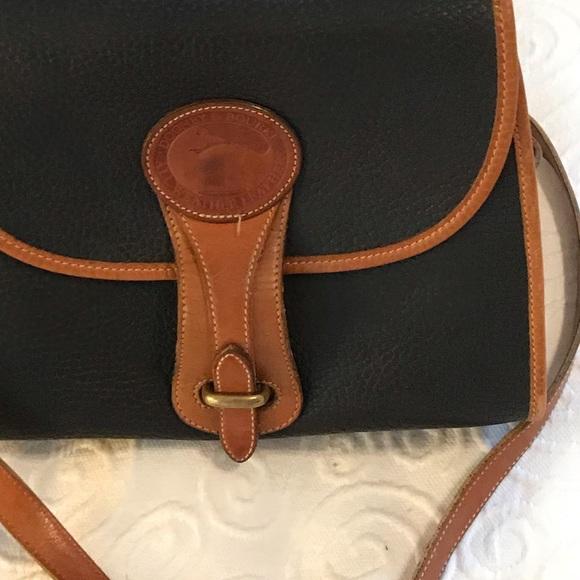 Dooney & Bourke Handbags - Dooney & Bourke vintage crossbody. Navy blue